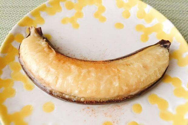 皮ごと焼きバナナレシピ効果