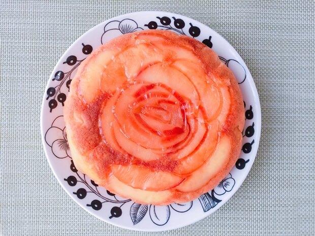 薔薇りんごケーキレシピ