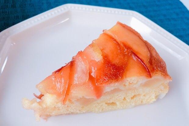 薔薇りんごケーキを炊飯器で簡単に作るレシピ