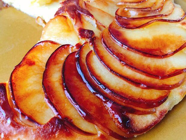 フライパンりんごケーキレシピ