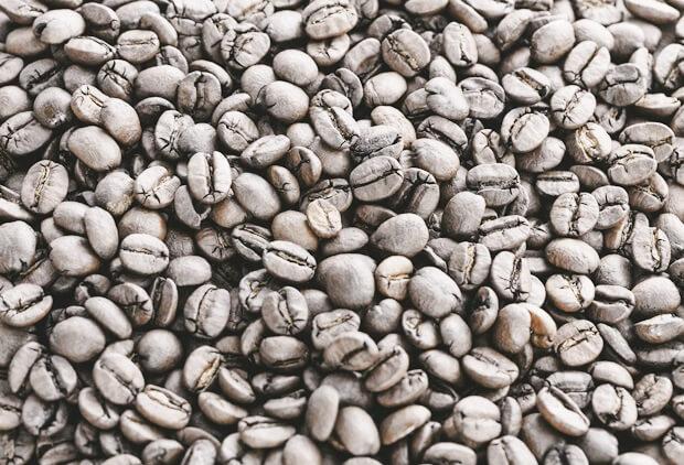 カビのはえたコーヒー豆