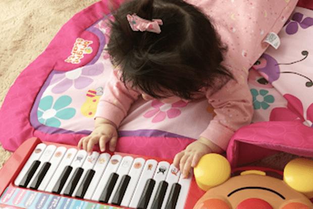 赤ちゃんとアンパンマンノリノリおんがくキーボードだいすきの画像