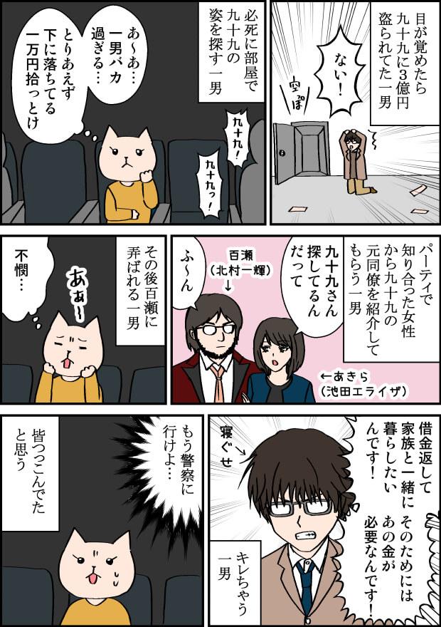 映画億男見どころの漫画