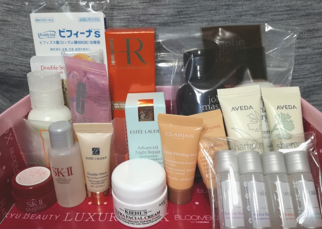 2019年LUXURY BOX 中身