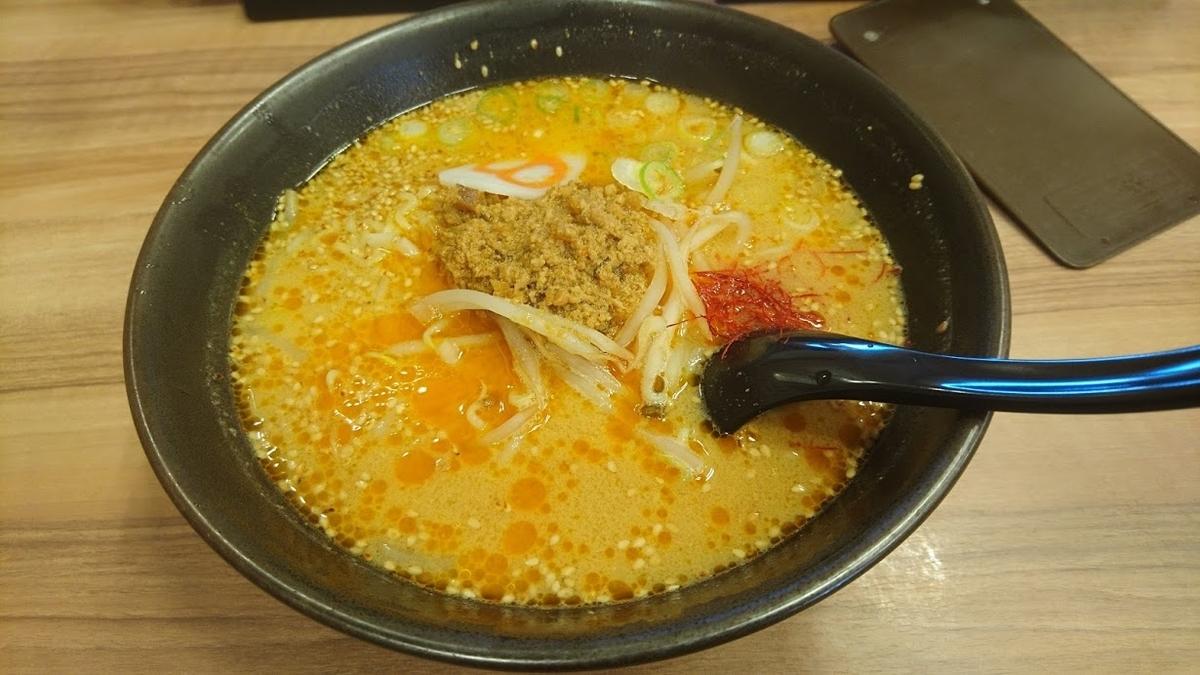 担々麺@8番らーめん
