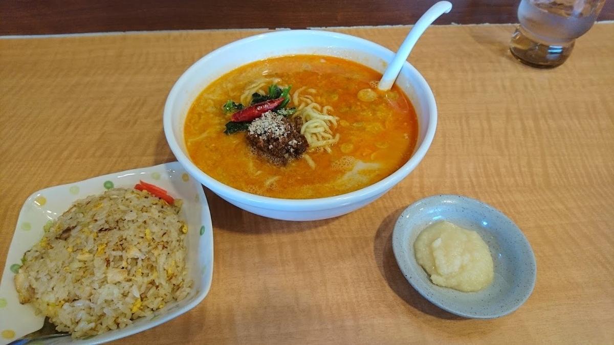 担々麺@どんき