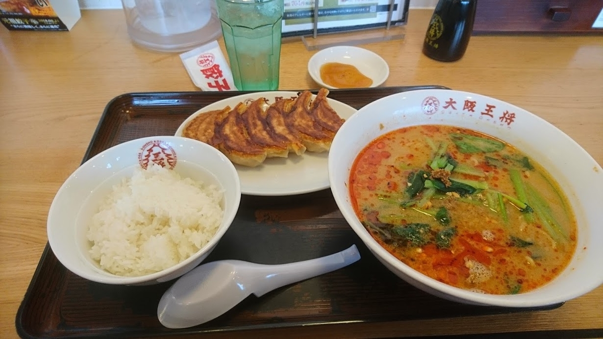 担々麺@大阪王将