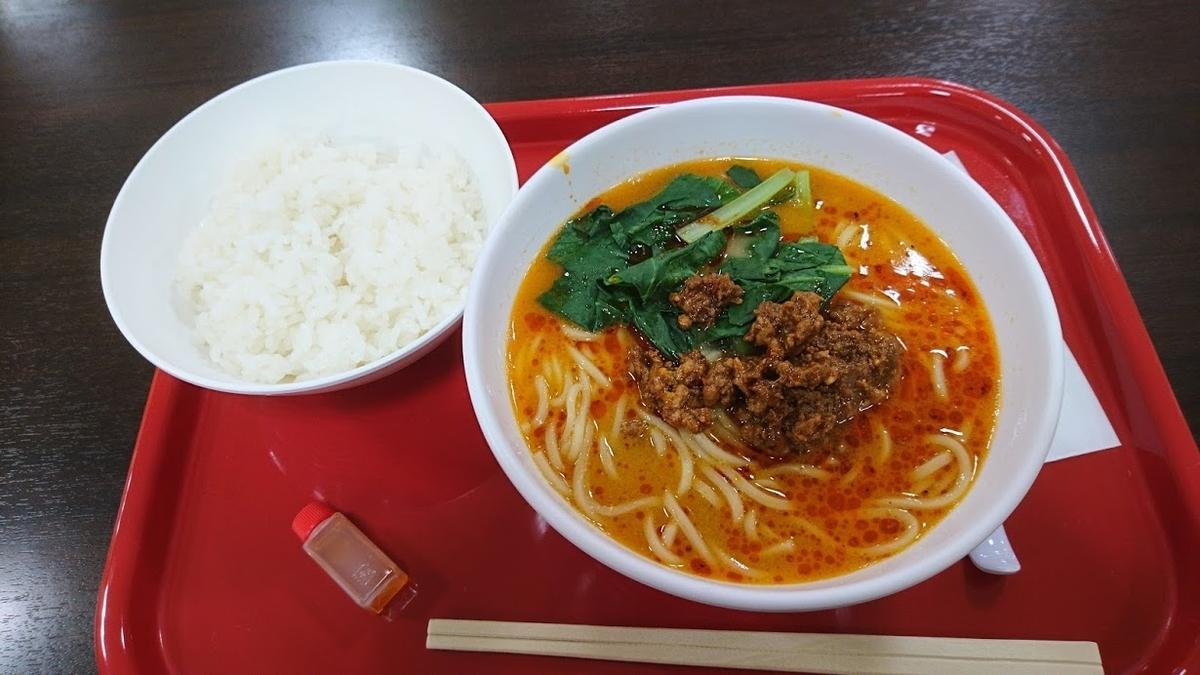 担々麺@髭鬚張魯肉飯