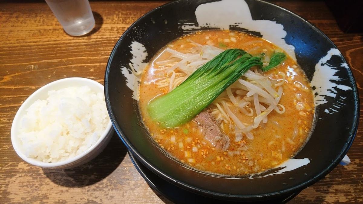 担々麺@客野製麺所