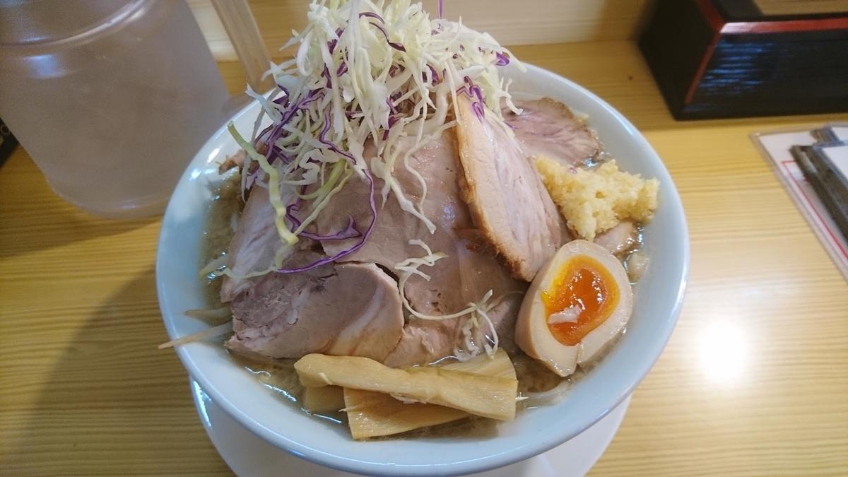 でかまるラーメン@自家製麺 麺屋ひろまる 福光本店 2021年4月9日