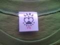 aiko LLR3 Tシャツ 緑(ナミ) タグ