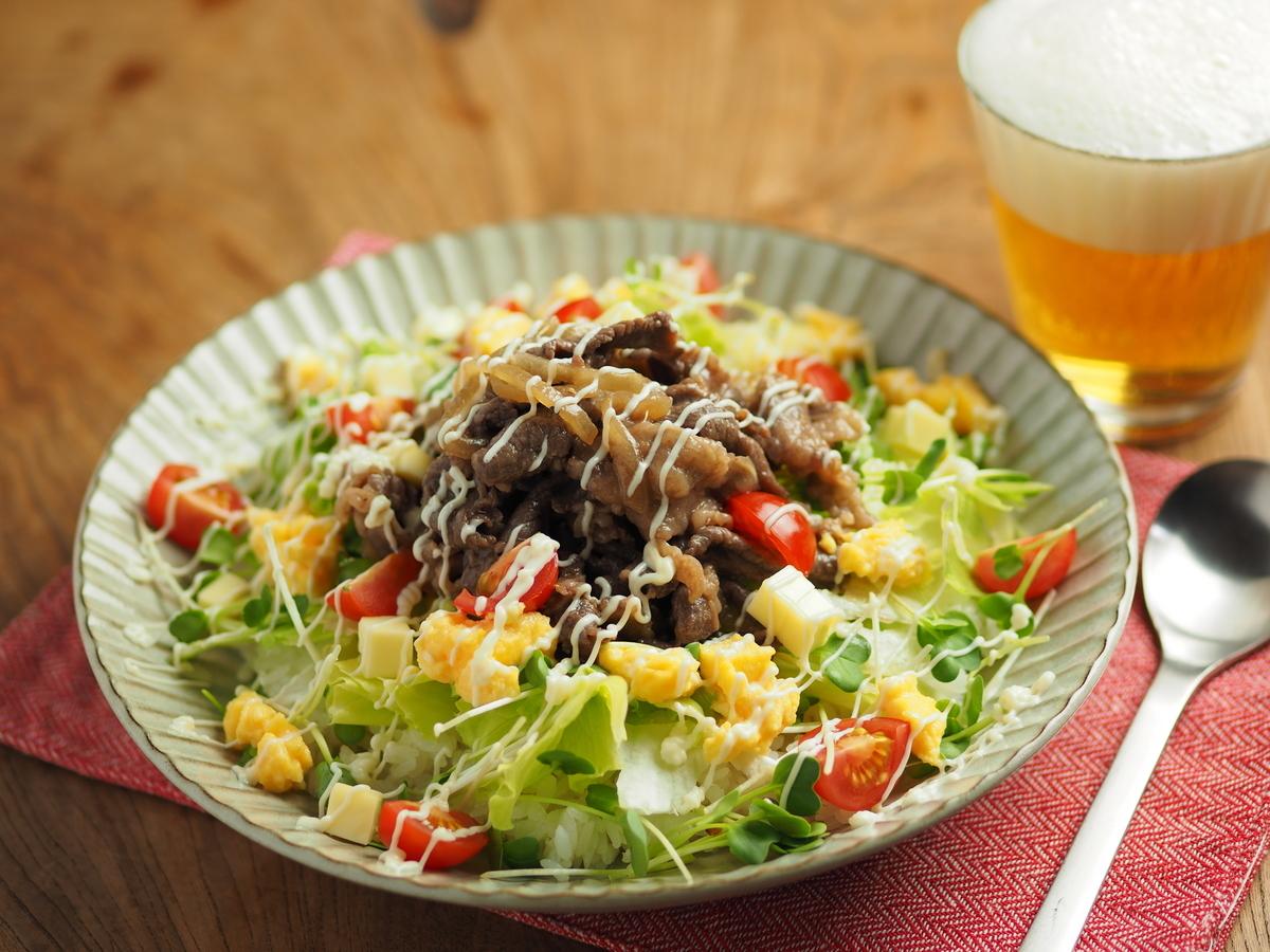 肉、野菜、白メシ。ガッツリ「シシリアンライス」は家メシの現実解かも【筋肉料理人】