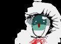 少女マンガの女の子の目ってすごいですよね('∞')
