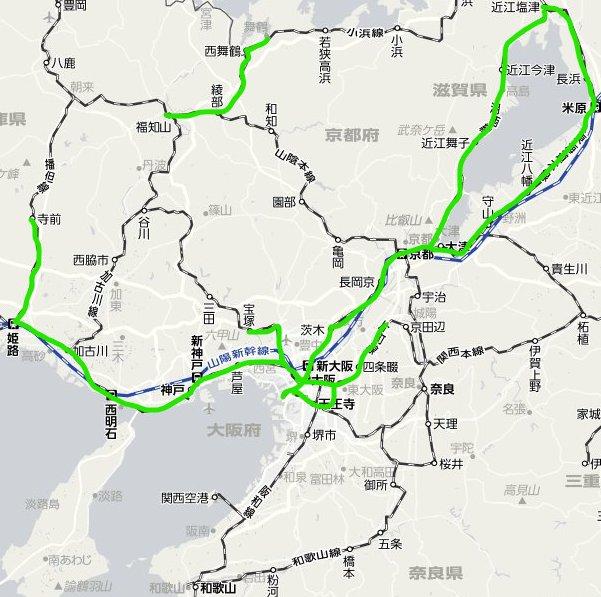 2018年6月記録的大雨 鉄道被害・運転見合わせ状況