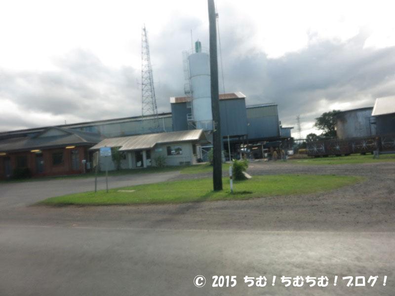 サトウキビ精製工場