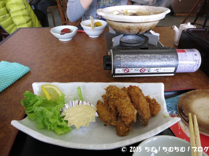 カキフライと牡蠣鍋