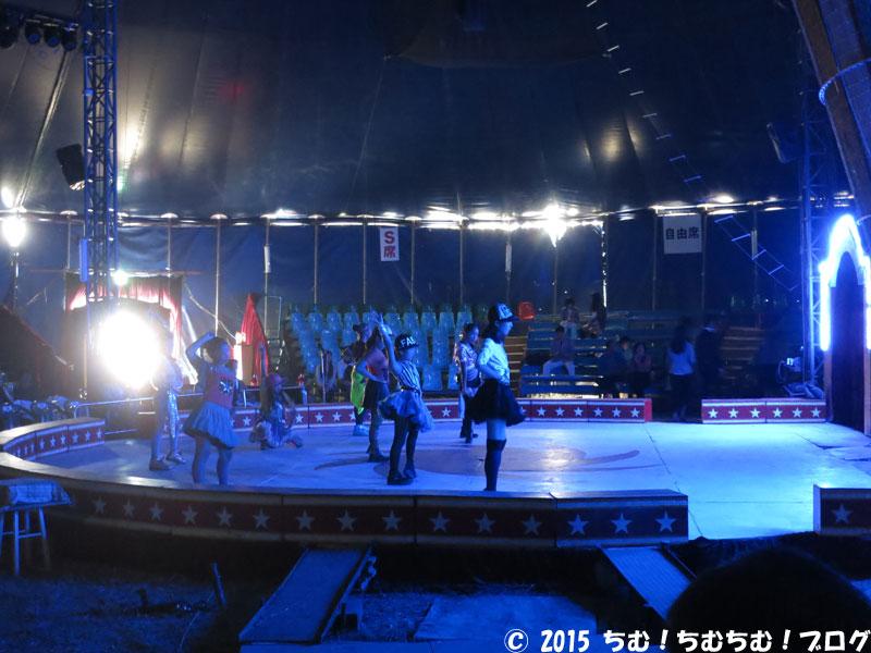開会式典の子供達のダンス