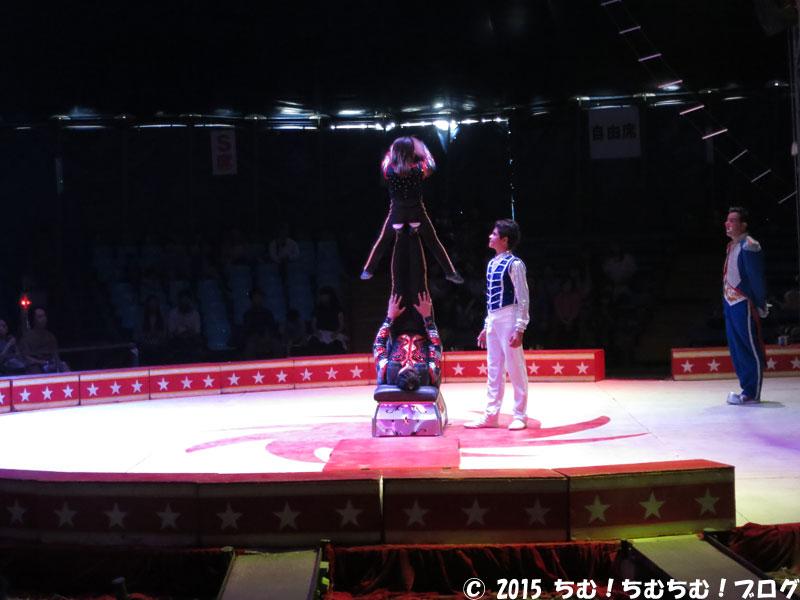 子供のサーカス団員