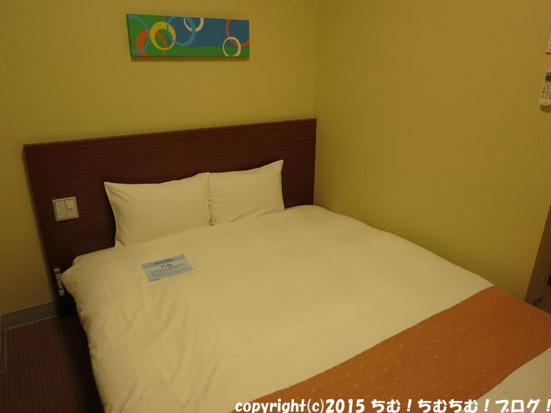 チサンイン福井のベッド