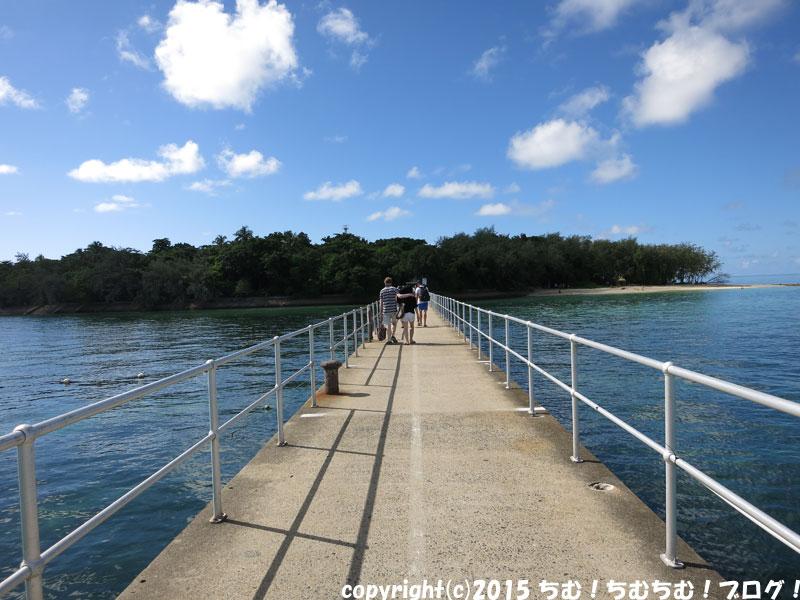 桟橋からのグリーン島