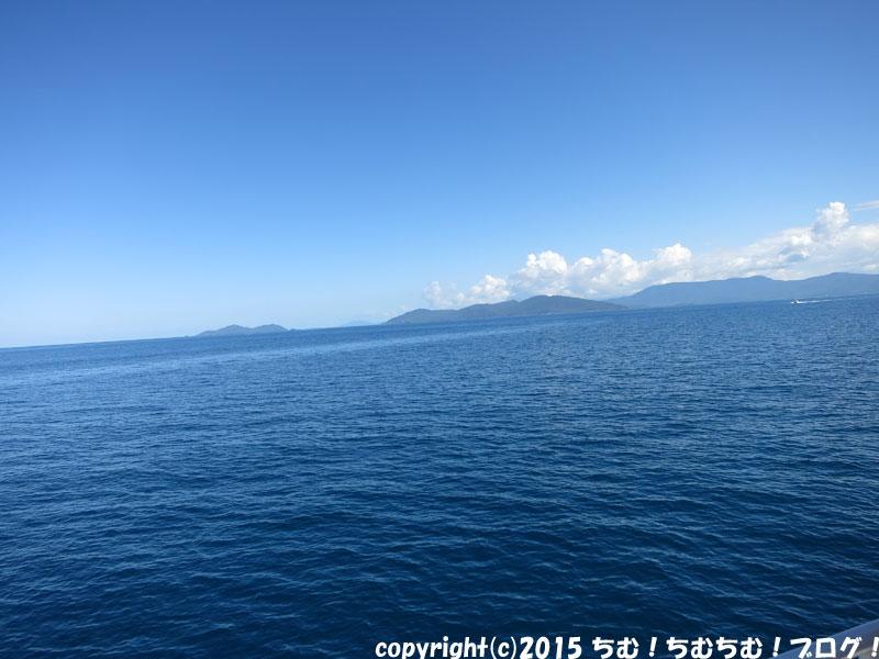 ケアンズの海