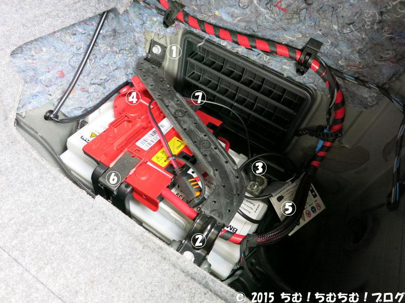 バッテリーの外し方