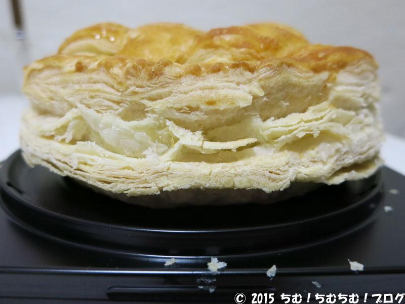 アップルパイの厚さ