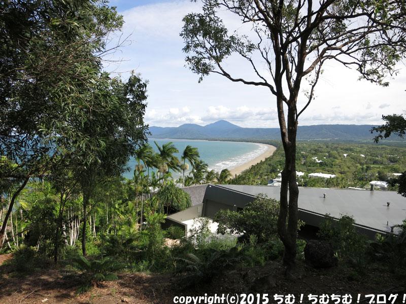 4マイルビーチの展望台