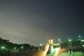 [夜空][ダム]鳴淵ダムと星空