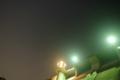 [夜空][ダム]鳴淵ダムと星空2
