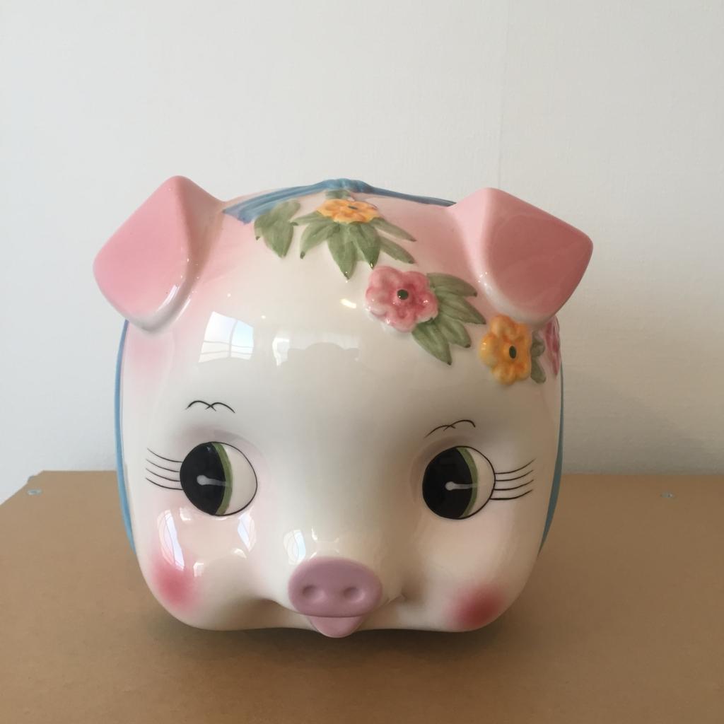ブタさん貯金箱