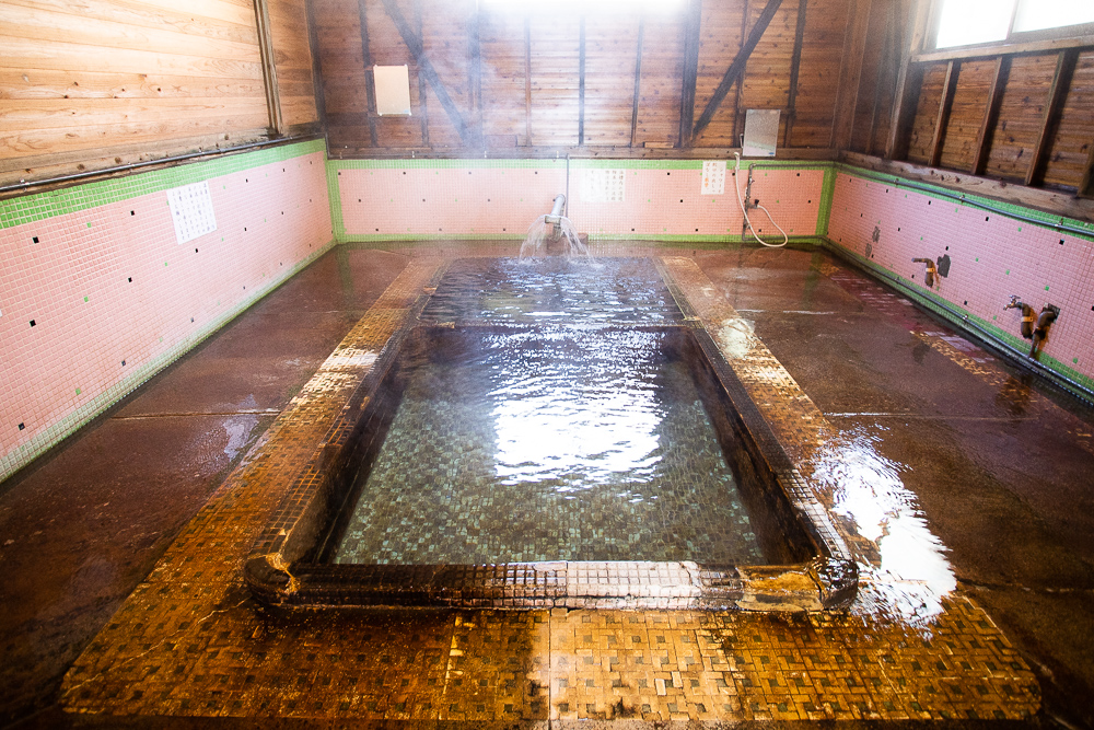 江之島温泉浴槽