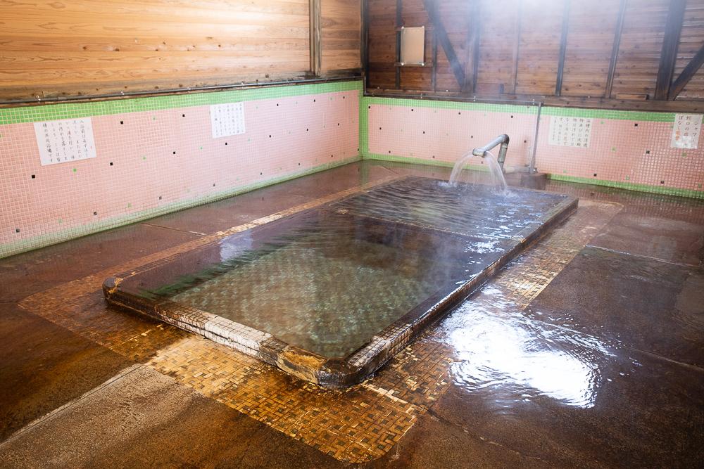 江之島温泉の浴槽
