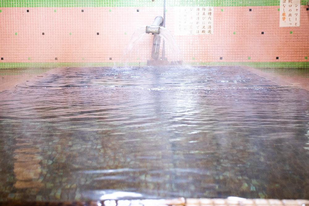 源泉かけ流しの江之島温泉