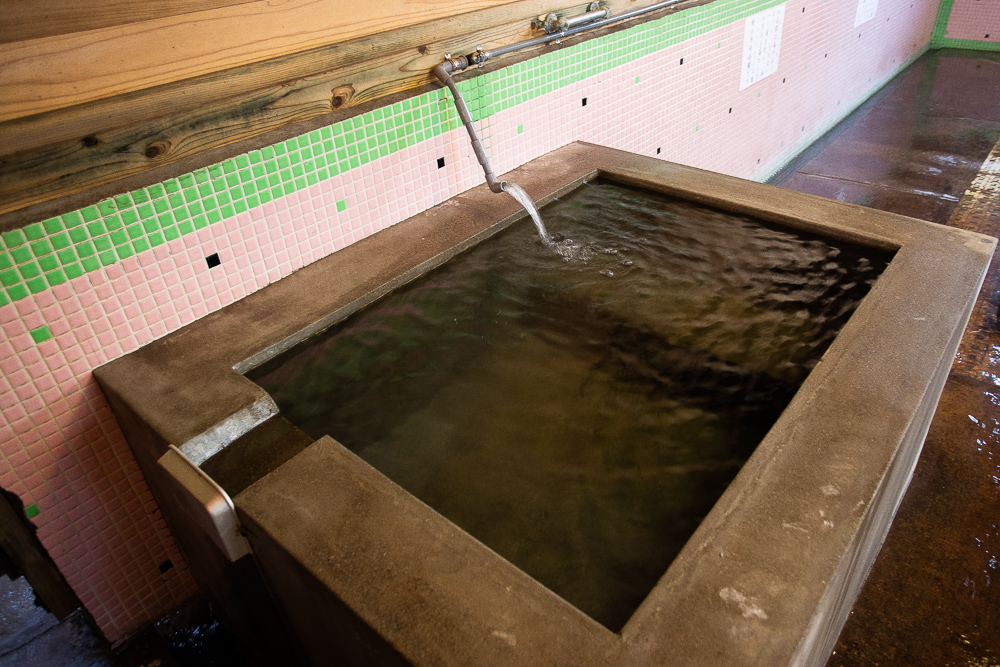 江之島温泉の水風呂