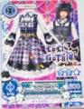 DCDアイカツ! ぱるるのコラボカード配布キャンペーンロリゴシックver