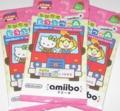 『とびだせ どうぶつの森 amiibo+』amiiboカード 【サンリオキャラクター
