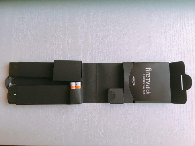 Fire TV Stick 同梱品