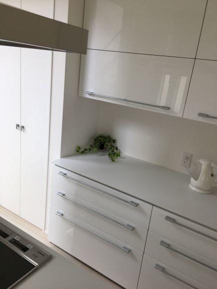 白キッチンボード