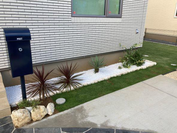 庭造り完了