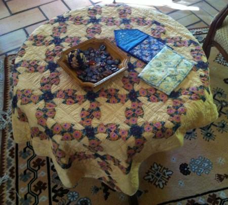 手芸テーブル