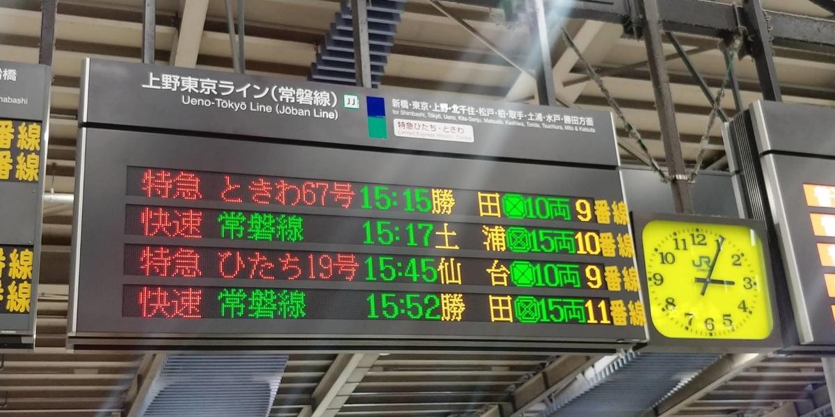 ひたち 仙台 特急 【祝!常磐線全線開通】特急「ひたち」仙台→品川を乗り通す