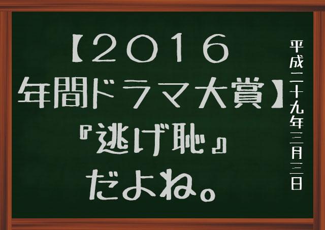 コンフィデンスアワード・ドラマ賞