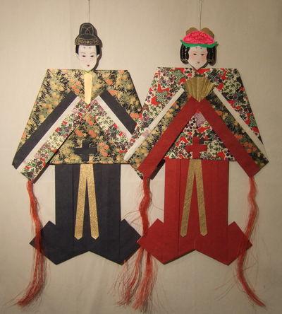 松本市の七夕人形