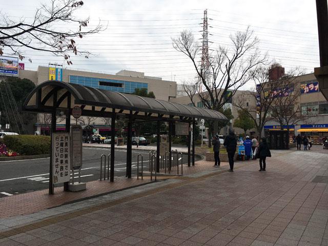 古川橋駅バス乗り場
