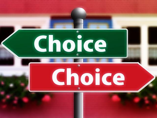 どちらを選択するか