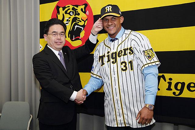 阪神タイガース マルテ選手