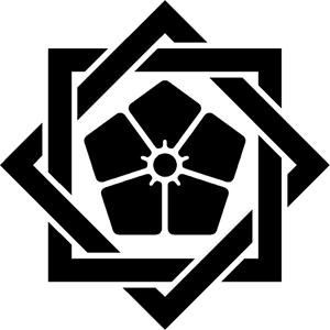 組違い桔梗紋