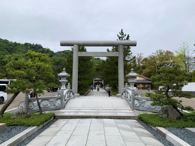 元伊勢籠神社の鳥居