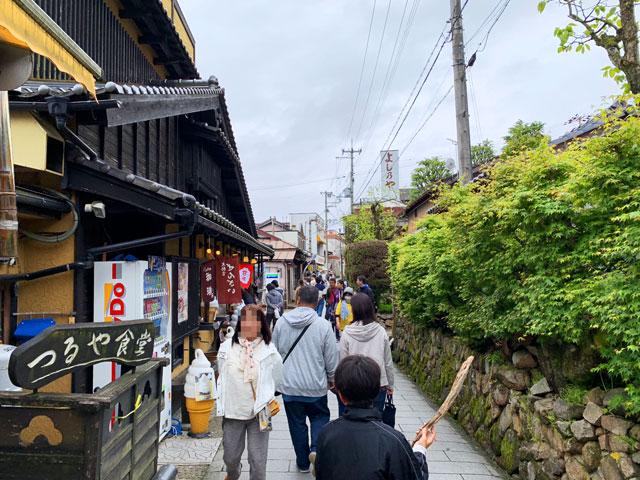 籠神社から傘松公園へ